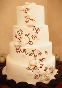 Image Of Wedding Cake For Durango Wedding Venues - Fox Fire Farms